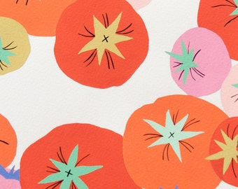 You Say Tomato in Natural - Alexander Henry cotton fabric