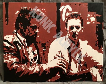 145. 16x20 PRINT of Tyler Durden and The Narrator from Fight Club