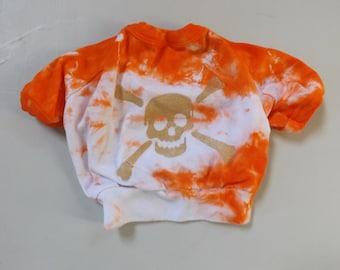 Bad to the Bone dog sweatshirt.