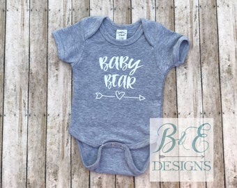Baby Bear Infant Bodysuit, Little Brother, Little Shirt, New Baby, Little One, Coming Home