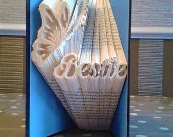 Bestie Butterfly Book Folding Pattern