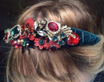 Wild Cherries Headpiece