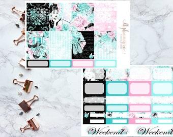 Tiff's: Planner Stickers for Erin Condren Vertical Planners Weekly Kit
