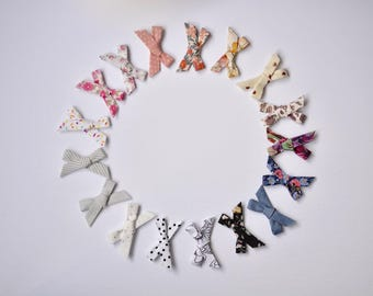 Printed Everly bows