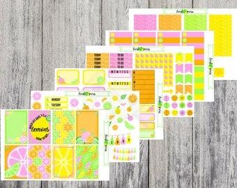 Citrus Sweetness | Happy Planner