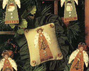 Angels Among Us by Homespun Elegance Counted Cross Stitch Pattern/Chart