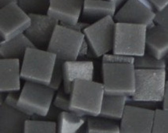 12mm Mosaic Craft Tiles - Grey Matte - 50g