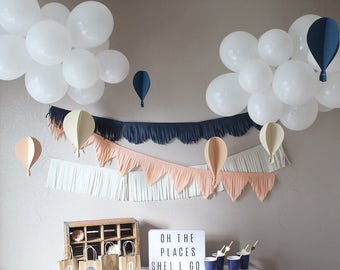 Hot Air Balloon Party Package (Customize your colors)