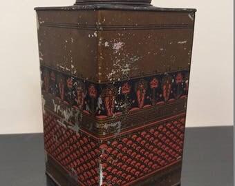 Vintage Walter Baker & Co Cocoa Tin