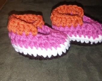 Booties crochet slippers foot wear