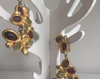 Christian Lacroix earrings vintage