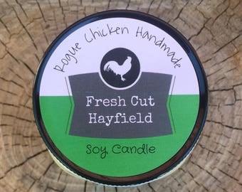 Fresh Cut Hayfield 13oz Soy Wax Scented Candle