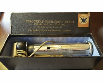 Elec-treat mechanical heart pain relief quack medicine