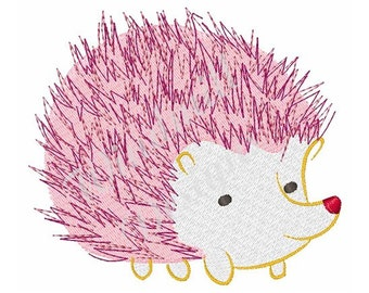 Hedgehog - Machine Embroidery Design