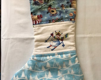 Kids quilted stocking. More to choose and customs available.