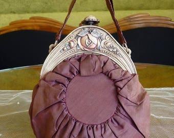 1916 Hand Bag, antique bag, Edwardian bag