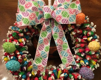 Premium Frootsie Edible Candy Wreath (400+ pieces)