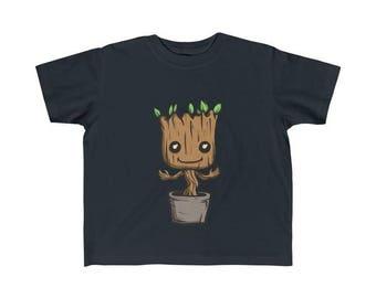 Toddler Cute Baby Groot T-Shirt
