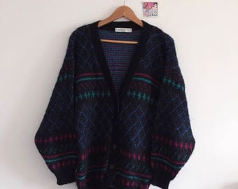 "Vintage cardigan made by ""St.Bernand"". One size."