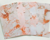 Rose Gold Marble - Planner Dividers/Planner accessories
