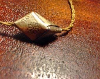 Silver handmade pendant