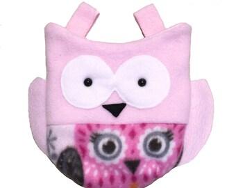 Owl Sugar Glider Sleeping Pouch/ bonding pouch
