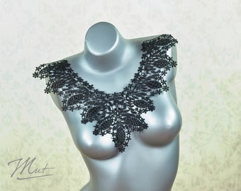 Lace insert - black - No.18