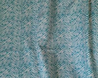 Teal shower curtain, chevron, teal and white, shower curtain, Premier Prints Cameron Ocean, bathroom decor, home decor, 72x70, eyelets