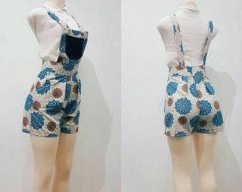 Ankara overalls/romper