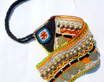 Vintage Banjara Belly dance Belt/is an authentic hand embroidered belts