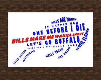 Buffalo Bills Logo Poster