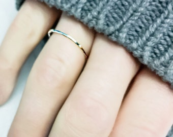 Simple Silver Unity Band Ring//Silver Unity Ring//Silver Ring//Silver Band