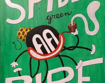 Spider Green Pipe