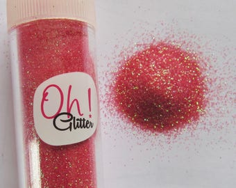 Fine glitter glitter red Strawberry in salt