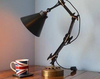 Vintage Spanner Adjustable Lamp