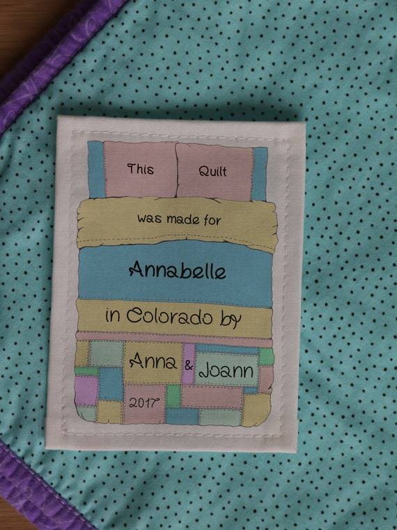 Personalized Sewing Labels | Personalized Quilt Labels | Custom ... : personalized fabric labels for quilts - Adamdwight.com