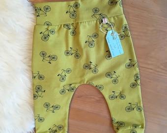 Pants 74/80 Jersey baby toddler green bikes