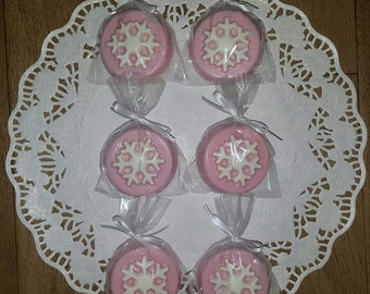 Snowflake Chocolate Covered Oreo - set of 12