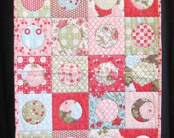 Bonnie & Camille Bliss - finished table runner quilt