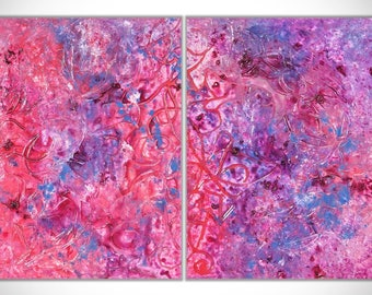 Purple Painting, Large Painting, Original Painting, Large Art, Modern Art, Textured Art, Abstract Art, Abstract Painting, Pink Painting
