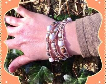 3. Vegan wrap bracelet