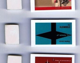1:25 G scale model Oldsmobile car shop service manuals