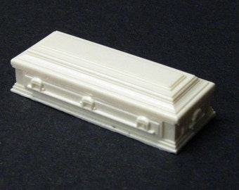 1:32 scale model funeral casket hearse