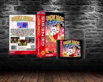 Snow Brothers - Platforming Action Saves the Day - GEN - Unreleased