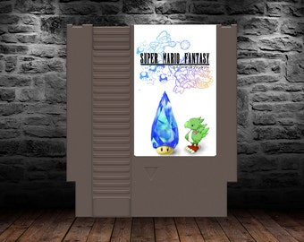 Super Mario Fantasy - Final Fantasy in the Mushroom Kingdom - NES