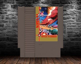 Space Harrier - Classic Shooter Pushes NES Hardware - NES