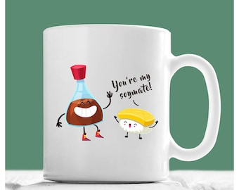 Soulmates Mug, You're My Soymate, Soulmate Coffee Mug, Soulmate Gifts, Soulmate Gifts For Her, Soulmates Gifts, Soulmate Cups