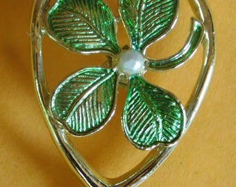 Vintage Good Luck Pin