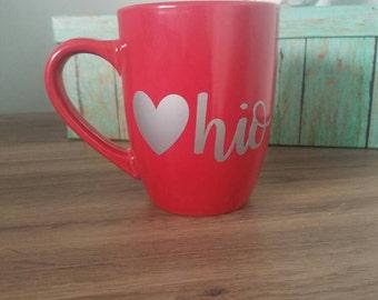 Ohio mug: Ohio lovers mug