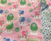 "Baby Blankets, Stroller Blanket, Children's ""Draggy blanket""   Ready-to-ship"